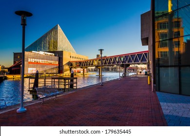 The National Aquarium  at the Inner Harbor in Baltimore, Maryland.
