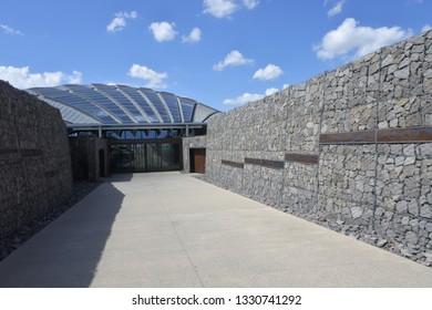 The National Arboretum in Canberra Australian Capital Territory in Canberra Australian Capital Territory.