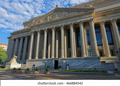 National Archives Building is located in Washington D.C., USA. Usually it is called Archives I. The building of the Archives was approved in 1926 and was built in 1935.