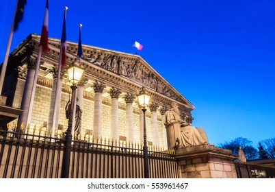 The National assembly is the lower house of the French parliament. The official seat of the National Assembly is the Palais Bourbon on the banks of the river Seine, it is guarded by Republican Guards.