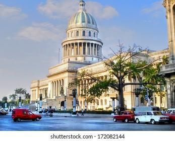 The National Capitol Building of Cuba in Havana