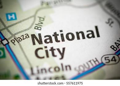National City. California. USA