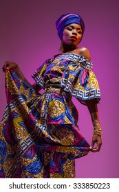 national costume African woman, beauty will save the world