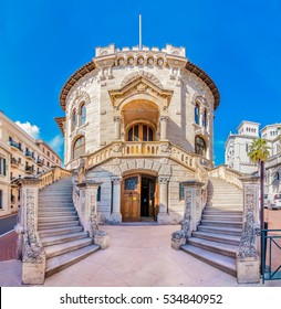 The national court house of the country of Monaco