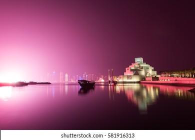 National Day Celebrations on Doha Corniche