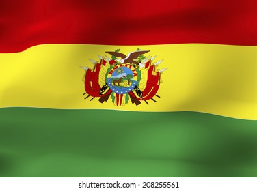 The National Flag Of Bolivia