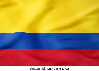 National Flag of Colombia - Rectangular Shape