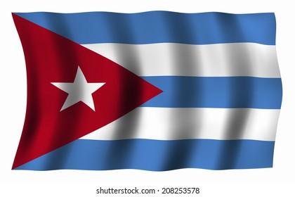 The National Flag Of Cuba