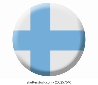 The National Flag Of Finland