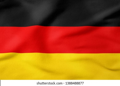 National Flag of Germany - Rectangular Shape patriotic symbol