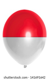 national flag of indonesia balloon