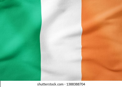 National Flag of Ireland - Rectangular Shape patriotic symbol