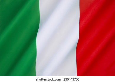 The national flag of Italy -  The current flag has been in use since 19th June 1946 and was formally adopted on 1st January 1948.