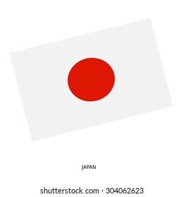 National flag of JAPAN