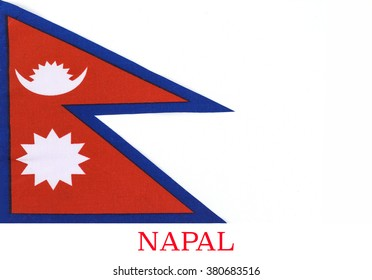 The national flag of Nepal is the world's only non-quadrilateral national flag. Until 1962, the flag's emblems, the sun and the crescent moon, had human faces.They were removed to modernize the flag.