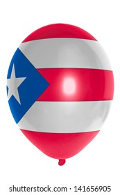national flag of puertorico balloon
