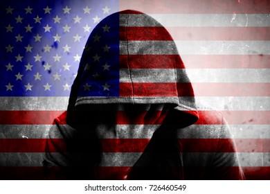 National flag USA symbol.