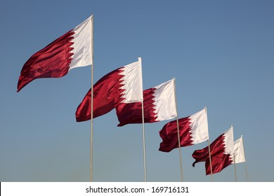 National flags of Qatar