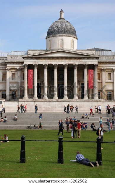 The National Gallery, London (Trafalgar Square)