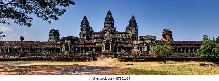 National heritage in Angkor Wat Cambodia