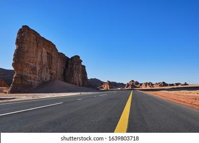 National Highway, Al Ula, KSA