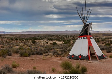 National Indian home (wigwam) in Arizona, USA