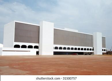 National library in brasilia, brazil