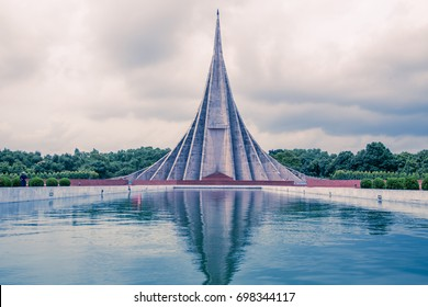 National Martyrs' Memorial is the national monument of Bangladesh, Tourist spot, landmark, Savar, Dhaka, Bangladesh