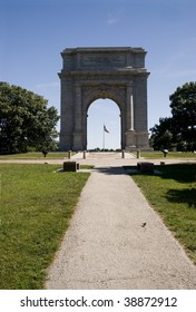 National Memorial Arch in Valley Forge National Park, Pennsylvania