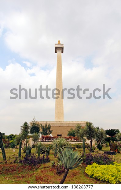 National Monument Monas. Merdeka Square, Central Jakarta, Indonesia