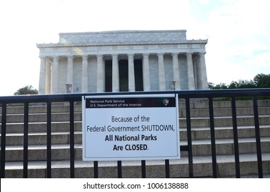 National monuments and museums in Washington DC were closed during the U.S. governemnt shutdown in 2013.