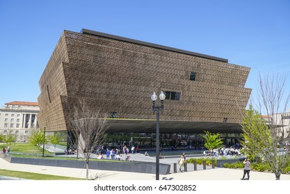 National Museum of African American History and Culture - WASHINGTON / DISTRICT OF COLUMBIA - APRIL 8, 2017