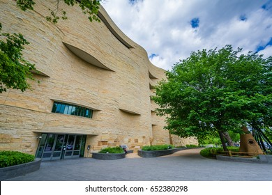 The National Museum of the American Indian in Washington, DC.