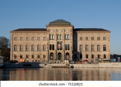The National Museum of Sweden in Stockholm