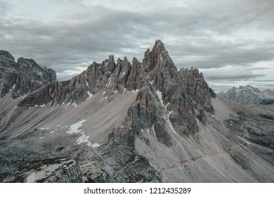 National Nature Park Tre Cime In the Dolomites Alps. Beautiful nature of Italy