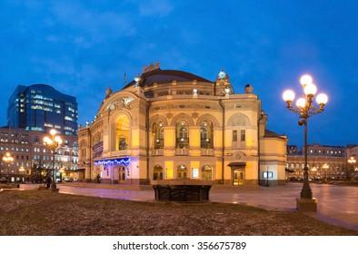 National Opera of Ukraine in Kiev, Ukraine