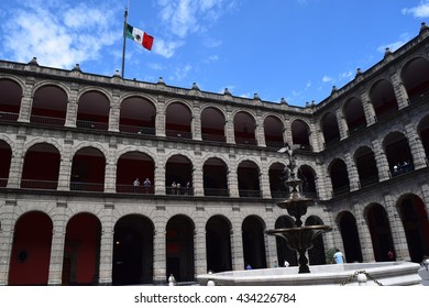National Palace in Mexico