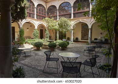 National Parador. Convent of San Francisco in Granada