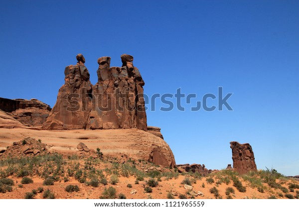 """National Park """"Arches"""" in Utah, USA"""