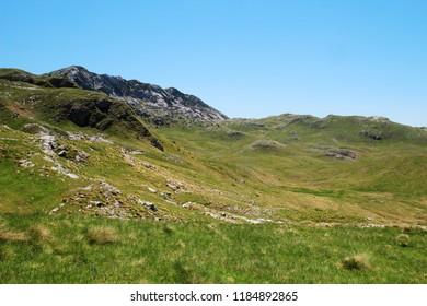 National Park Durmitor, a mountain pass, Montenegro