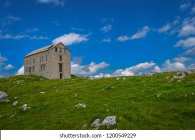 National Park Gran Sasso in Prati di Tivo - Landscape, Teramo province, Abruzzo region, Italy