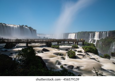 National park of Iguazu Falls, Brazil.