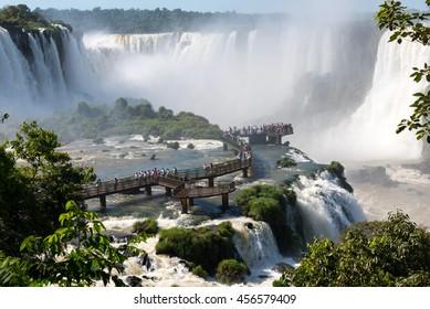 National park of Iguazu Falls, Brazil.