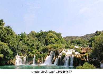 National Park Krka Waterfalls Skradin / Sibenik