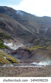 National Park Landmannalaugar in Iceland