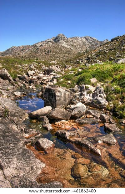 National Park of Peneda Geres in Portugal