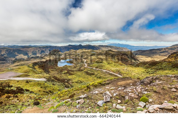 エクアドルの国立公園サンガイ