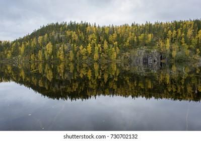 National park scenery in october