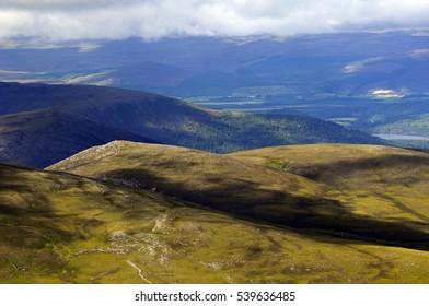 national park in Scotland- beautiful landscape, fresh air