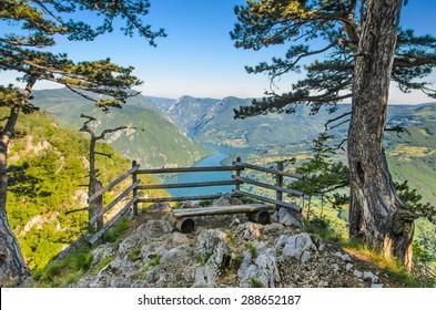 National park Tara mountain, Serbia